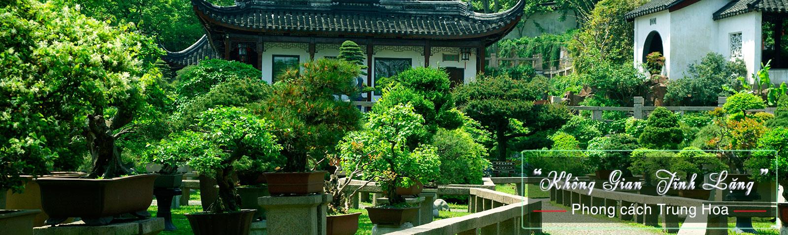 Sân vườn Trung Quốc