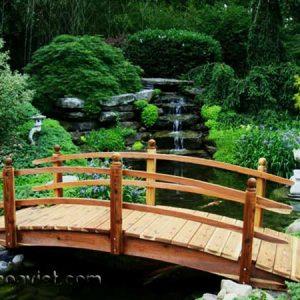 cầu trang trí sân vườn8