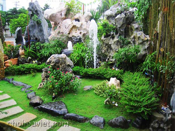 Đá trang trí sân vườn1