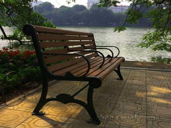 Ghế nghỉ trang trí sân vườn2
