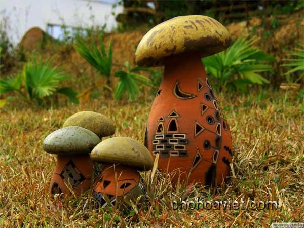 Gốm sứ tạo phong cách cho sân vườn