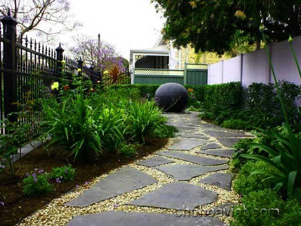 lối đi trang trí sân vườn10