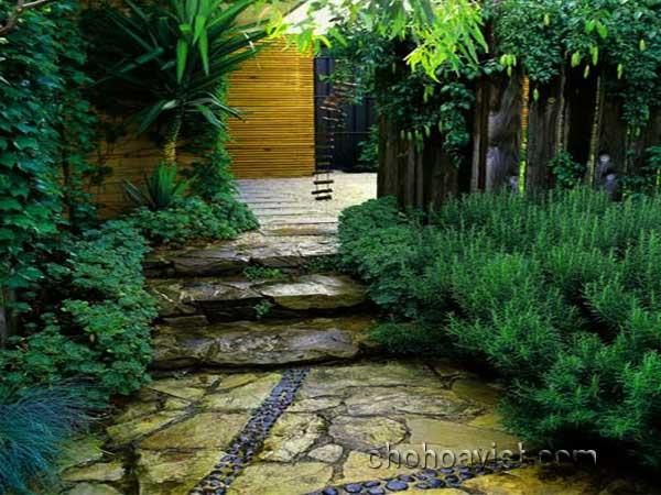 lối đi trang trí sân vườn 4