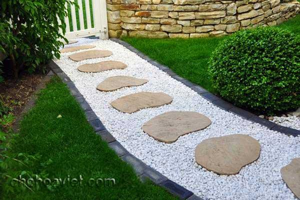 Lối đi trang trí sân vườn6