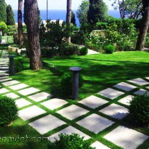 lối đi trang trí sân vườn9
