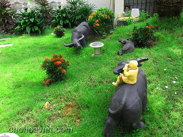 Tượng trang trí sân vườn