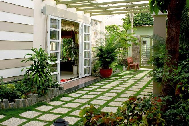 Những mẫu sân vườn đẹp và phổ biến nhất